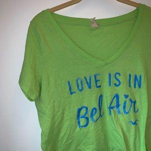 HOLLISTER 'Love Is In Bel Air' Crop Top (L)